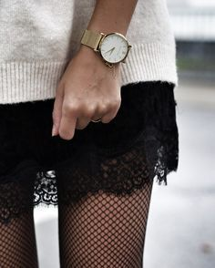 aw17 trends: fishnet tights