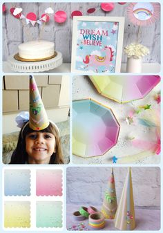Create a dreamlike world full of sparkling rainbows, fluffy clouds, and magical unicorns with our Dreamer party pack. The whimsical decor, perfectly curated tabletop, and creative favors are sure to inspire a magical celebration. Chasing unicorns can be a lot of work, let Bitty Bash make some magic and get your party started on the right hoof!