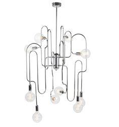 You'll ❤ The Nuevo Corrine 10 Light Ceiling Pendant Light Chrome Sputnik Chandelier, Ceiling Pendant, Ceiling Lamp, Pendant Lighting, Light Pendant, Pendant Lamps, Chandeliers, Ceiling Lights, Metal Canopy