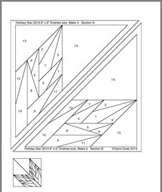 Paper Pieced Quilt Patterns, Quilt Block Patterns, Big Block Quilts, Quilt Blocks, Native Beading Patterns, Foundation Paper Piecing, English Paper Piecing, Patch Quilt, Quilting Tutorials