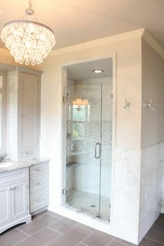 Ziegle Avenue Master Bath & Closet - traditional - bathroom - cincinnati - Essence Design Studios