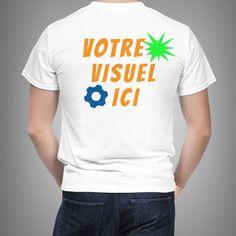 Tee shirt personnalisé Express – Dos – 5 ex Impression Sur Tee Shirt, T Shirt Original, Tee Shirts, Tees, Magazines, Mens Tops, Fashion, Fashion Styles, Journals