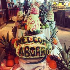Welcome aboard Royal Caribbean Enchantment of the Seas Photo by kaitbrode