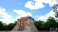 Temple in Chichen Itza, Mexico.
