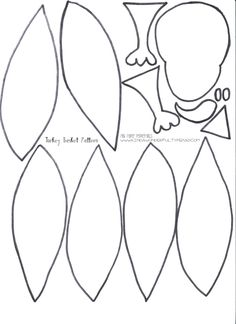 8 Best Images of Free Printable Thanksgiving Turkey Pattern - Printable Turkey Pattern Template, Thanksgiving Turkey Cut Out Pattern and Printable Turkey Cut Out Pattern K Crafts, Fun Crafts For Kids, Fall Crafts, Holiday Crafts, Crafts To Make, Nature Crafts, Holiday Ideas, Feather Clip Art, Feather Stencil