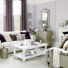 Decora tu living con detalles de estilo romántico.
