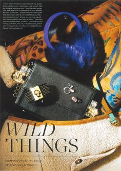"Ileana Makri - ""Screw It"" Rings 18k gold & diamonds - Vantage - November '14 - F1"