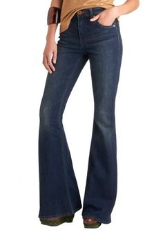 Flare Play Jeans from ModCloth on shop.CatalogSpree.com, your personal digital mall.