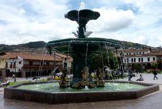 La fontaine principale de #cusco #perou