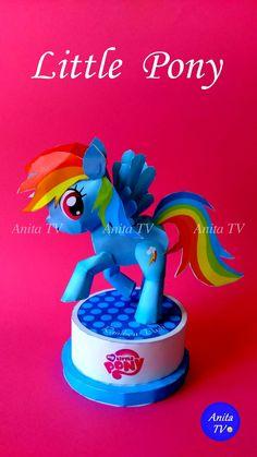 Маленький пони. Радуга Дэш из бумаги ! My little pony ! Rainbow Dash of paper (…