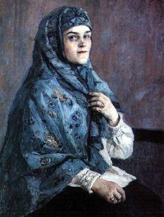 A Jewish Woman, Alexej von Jawlensky (Russian-German, 1864-1941).