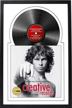Vinyl Frames, Frames On Wall, Poster Frames, Framed Records, Vinyl Records, Multi Picture Frames, Drawing Frames, Creative Pictures, Frame Display