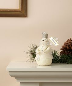 Loving this 'Winter Dream' Snow Queen Figurine on #zulily! #zulilyfinds