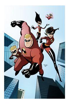 The Incredibles - print by marciotakara on deviantART