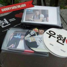 Twitter / BoyTeenFinite: [PIC] 130810 Woohyun's fansite ...