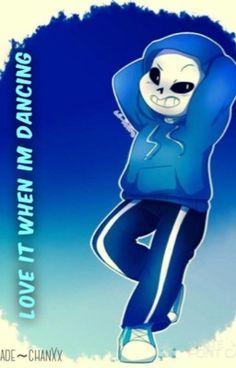 I love it when I'm dancing(a dancetale sans X reader) by xXJade-chanXx