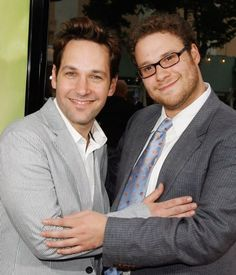 Paul Rudd & Seth Rogen ~ These 2 Are Golden Together!!