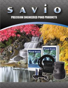 Check out Savio Engineering's Catalog for the best Pond Equipment. Water Feature Kits, Garden Catalogs, Water Garden, Water Features, Pond, Custom Design, Engineering, Water Sources, Water Pond