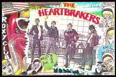 Punk Rock 1977 | Roxy Club - Punk Poster 1977 - The Heartbreakers / Siouxsie and the ...