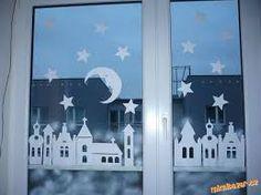 """Képtalálat a következőre: """"vánoční dekorace do oken"""""""