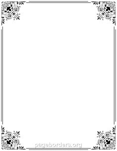 Printable fancy border. Use the border in Microsoft Word or other programs for creating flyers, invitations, and other printables. Free GIF, JPG, PDF, and PNG downloads at http://pageborders.org/download/fancy-border/