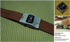 """""""Retro Watch"""" awesome DIY arduino based smart watch on instructables"""