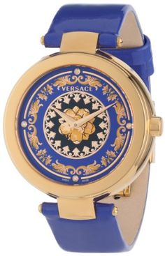 Versace Women's Mystique Foulard Rose Gold Ion-Plated Stainless Steel Quartz Diamond… Cool Watches For Women, Cute Watches, Stylish Watches, Luxury Watches, Rolex Watches, Elegant Watches, Wrist Watches, Gianni Versace, 4 Diamonds