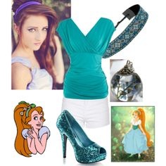 """""""Modern Thumbelina"""" by mandilynn726 on Polyvore (I Know this isn't Disney but I treat it in the same because it's one of my all time Favorite Movies)"""