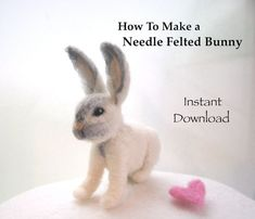 Needle+Felting+Tutorials.+Needle+Felting+Animals.+by+ElisaShine