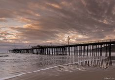 Pismo Pier by Minta Minta (Basak Prince), via Flickr _ Catching the first sunrise of 2013