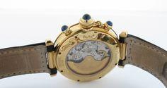 Cartier Yellow Gold Pasha 38mm Chronograph Auto Watch