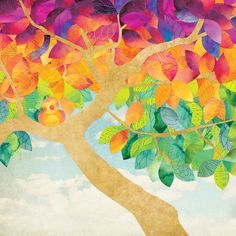 Illustration — Shanti Sparrow Illustration Art, Dots, Quilts, Art Prints, Trees, Painting, Design, Products, Stitches