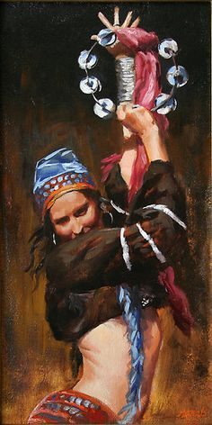 Kai Fine Art is an art website, shows painting and illustration works all over the world. Gypsy Life, Gypsy Soul, Des Femmes D Gitanes, Gypsy Women, Belly Dancers, Dance Art, Hippie Gypsy, Larp, Les Oeuvres