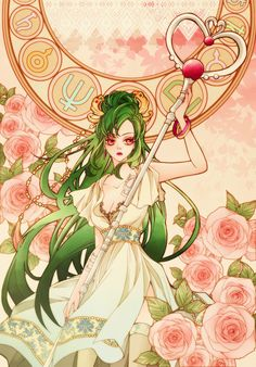 セーラープルート / 冥王せつな Sailor Pluto / Setsuna Meioh by sizh - Sailor Moon fan art Sailor Pluto, Sailor Moons, Sailor Jupiter, Sailor Moon Fan Art, Sailor Neptune, Anime Sexy, 5 Anime, Sailor Scouts, Manga Comics