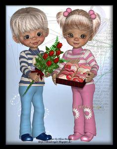 Triplets, Twins, Little Designs, Painted Doors, Fairy Dolls, Cute Little Girls, Cute Dolls, Precious Moments, Boy Or Girl
