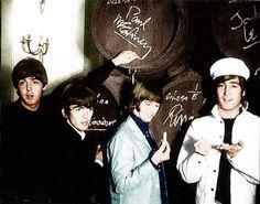 Paul George Ringo & John
