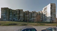 Collective housing - #architecture #googlestreetview #googlemaps #googlestreet #bulgaria #sofia #brutalism #modernism