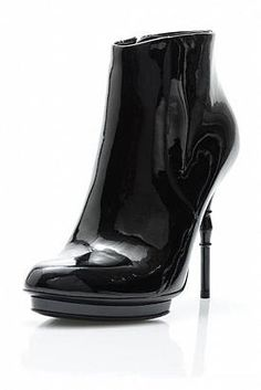 Gucci Patent Leather Booties