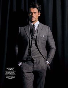 David Gandy by Lionel Guyou for Madame Figaro