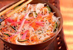 Dieta Já » Arquivo » Salada de bifum com kani