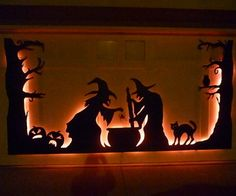 I love Halloween, and I've been looking for an excuse to try out the Dremel tool my husband gave me. I thought an eerie Halloween scene covering my ga...
