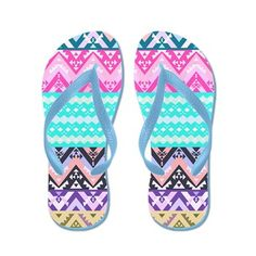 Paradise, Aztec Flip Flops
