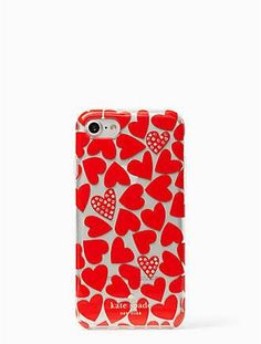 scattered hearts iphone 7 case by kate spade new york