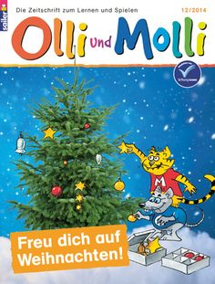 Kinderzeitschrift OLLI UND MOLLI für Kinder ab der 1. Klasse These look like awesome magazines for teaching.  Will see where they'll ship to!