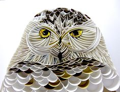 Owl - Paper Quilling on Behance