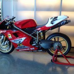 1996 ducati 996 rs superbike troy corser power horse