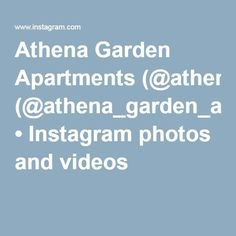 Athena Garden Apartments (@athena_garden_apartments) • Instagram photos and videos