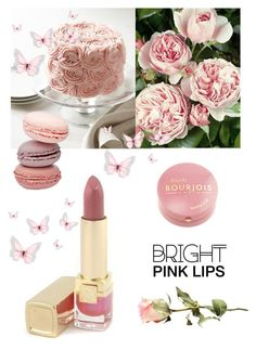 """""""Statement Lips"""" by dezaval ❤ liked on Polyvore featuring beauty, Estée Lauder, Bourjois and statementlip"""