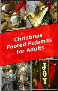 Christmas Footed Pajamas for Adults on Pinterest   Pajamas ...