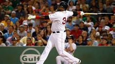 David Ortiz is one step closer to joining the 500 club. The Boston Red Sox designated hitter launched his career home run onto the Green Monster in the fourth inning of Monday night's game against the New York Yankees. Red Sox Baseball, Baseball Cards, Chris Pronger, Danny Ainge, Phil Simms, The Number 11, Mark Messier, Drew Bledsoe